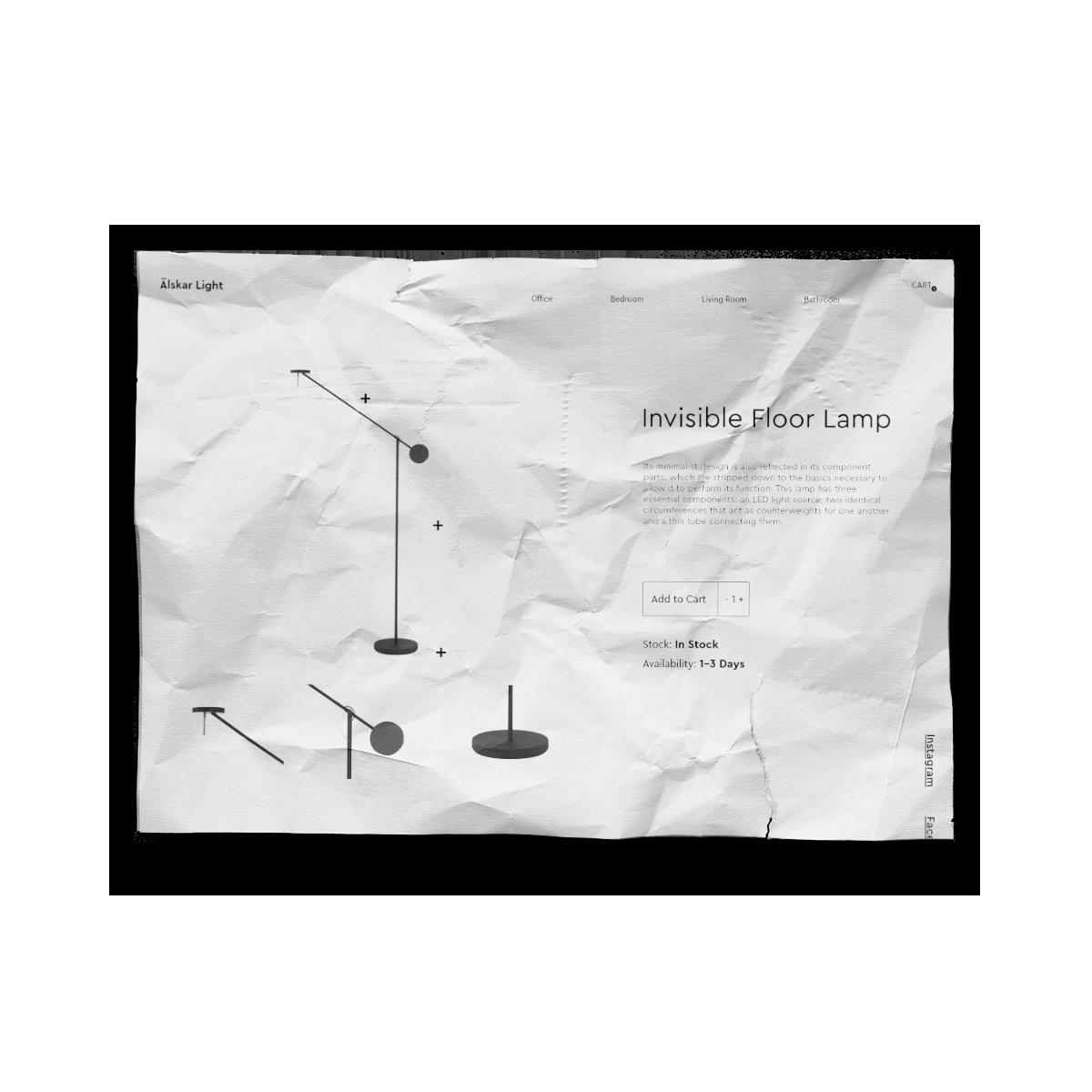 Coffee website UI Design • Elena Theodoridou - Kofteridou Despina