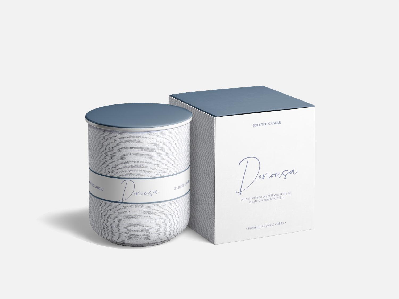 Donousa Premium Scented Candle • Elena Theodoridou