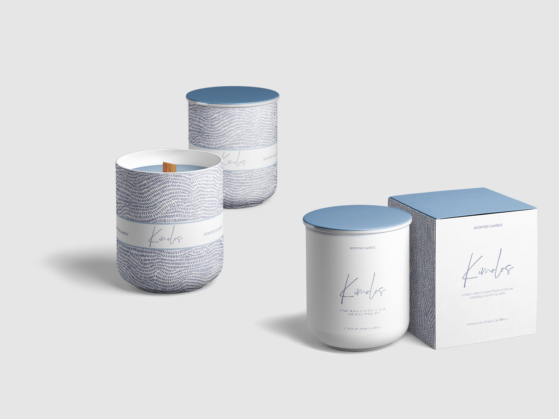Premium Scented Candles Design • Elena Theodoridou - Kofteridou Despina